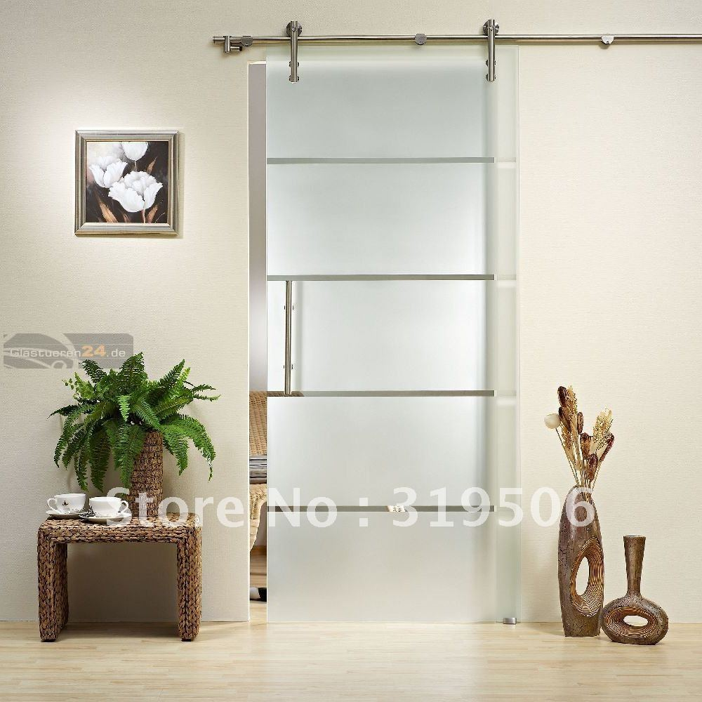 Modern Glass Barn Door Hardware With Free Shipping In Doors From