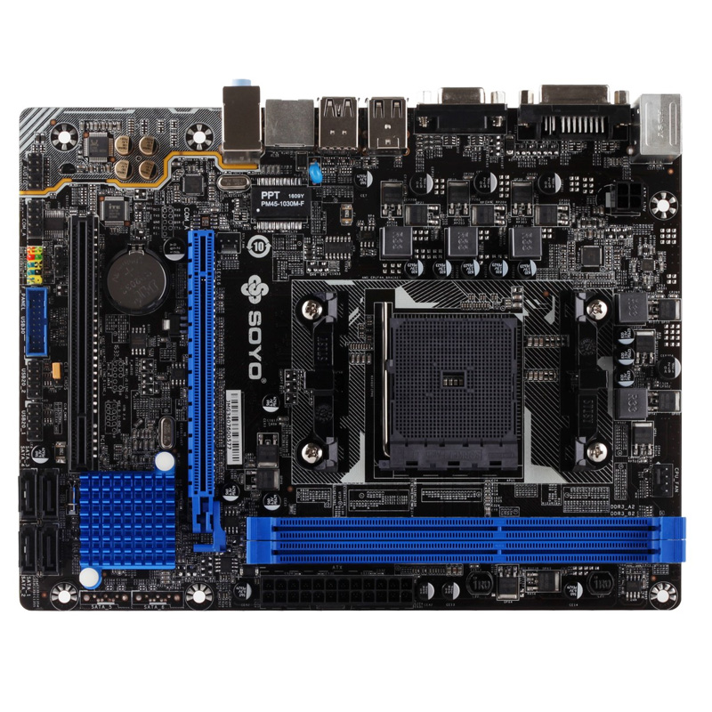 все цены на  Soyo SY-A68M all solid version of S1 FM2 + motherboard  онлайн
