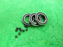 6803 Hybrid Ceramic Bearing 17x26x5 mm ABEC-1 ( 1 PC ) Bicycle Bottom Brackets & Spares 6803RS Si3N4 Ball Bearings thrust ball bearings axial 51128 abec 1 p0 140 180 31mm 1 pc