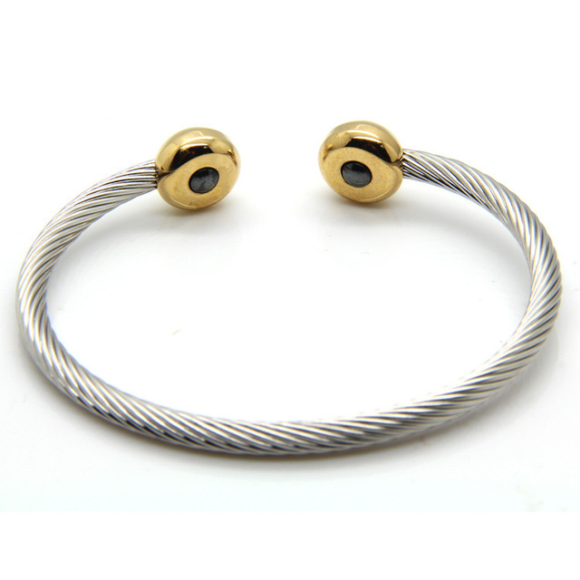 Aliexpress Sale Vintage Jewelry Twisted Wire Cable Cuff Bangle For ...