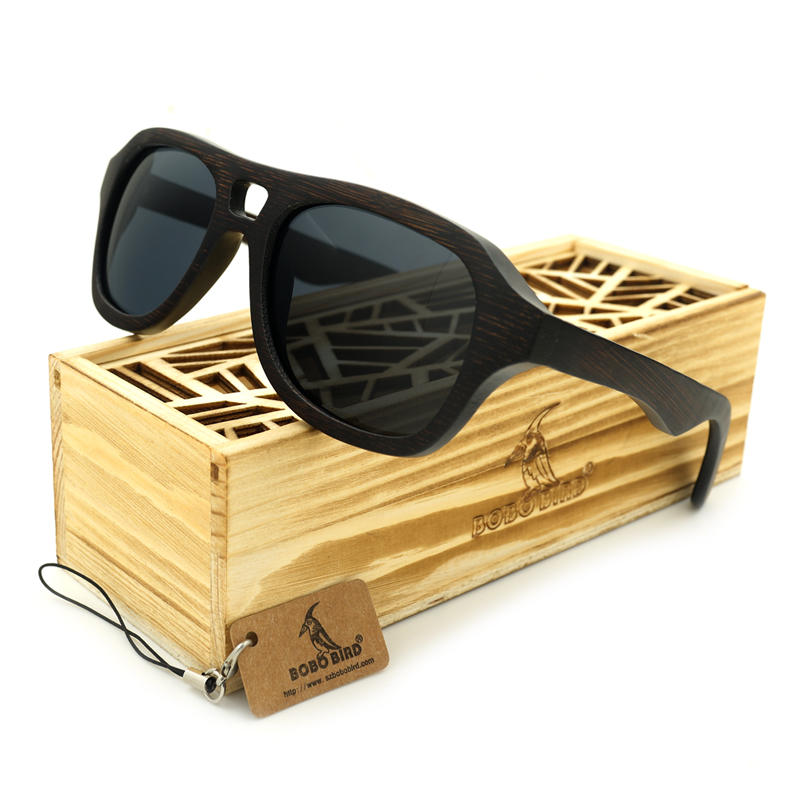 c1d5ff0328dbd1 BOBO BIRD Men s Wood Polarized Sun Glasses Retro for Men and Women Luxury  Handmade Wooden Sunglasses for Friends as Gifts Items-in Sunglasses from  Men s ...