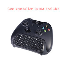 2.4G Mini Wireless Chat Pad Keyboard Pesan untuk Xbox One Controller Keyboard Gaming Pesan Gamepad Keyboard(China)