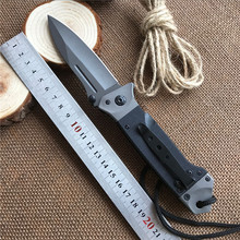 BROWNING-KNIVES Multi-function Folding Knife 58HRC tactical Hunting Camping G10 Blade survival knife Outdoor Tools Pocket Knives