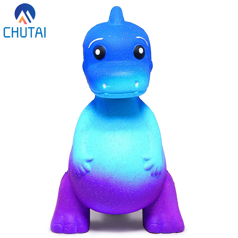 2019 New Design Cute Galaxy Dinosaur Squishy Cream Scented Slow Rising Squeeze Toys Kawaii Children's Squishes Toys 10*7*6CM