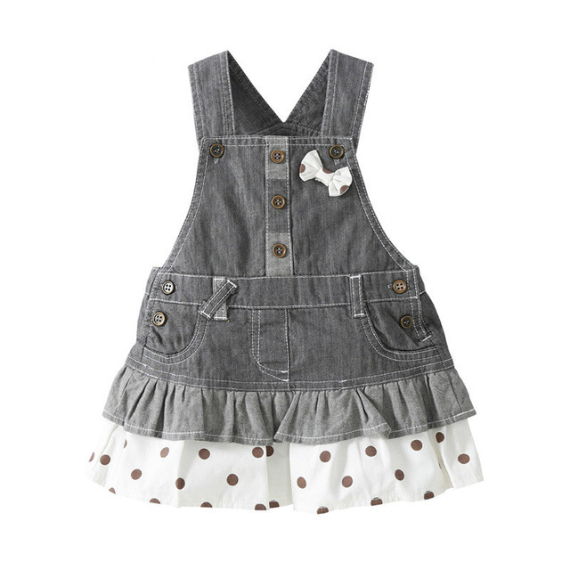 Top Quality 0-4 Year Old Baby Jeans Skirts Cotton Infant Denim Skirt Cute Bebek Etek Jupe Avec Bandeau Roupas Meninas Vestido