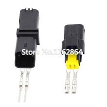 все цены на 5 Set 2 Pin DJ7027Y-2.5-11/21 Female Male FO Turn Light Plug FO Lamp Socket FCI Car Sensor Connector For Auto Truck онлайн