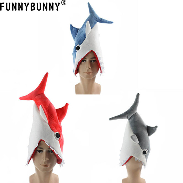 Funnybunny Hilarious Soft Plush Aquarium Shark Piranha Fish Cosplay