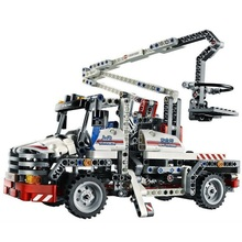 Decool 3350 Técnica Da Cidade Série Caminhão Caçamba Figura Blocos Compatíveis 592 pcs Construção de Construção Brinquedos Para Crianças