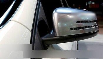 15-16 עבור בנץ GLE w166/קופה C292 מאט כרום צד דלת מירור כיסוי Trim 2 PS