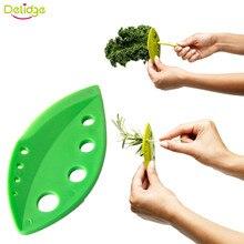 Delidge 1 шт. овощи розмарин, тимьян капусты лист Стриптизерша пластиковые зелень травы Стриптизерша Looseleaf розмарин Кухонные гаджеты