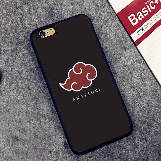 AKATSUKI CLOUD SYMBOL IPHONE CASE