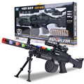 HOT !!!  2015 free shipping Toy gun acoustooptical pistol toy boy projection gun submachinegun vibration 6 colors to choose