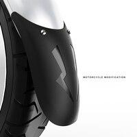 Universal motocicleta alongar frente fender traseiro andfront extensão da roda fender paralama splash guard para motocicleta nova cz