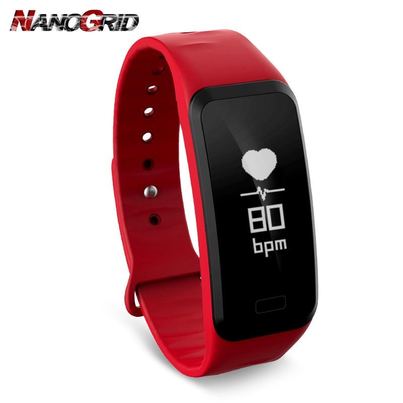 Ny Smart Watch Fitness Tracker och Hartslagmeter Smart klocka Auto - Herrklockor