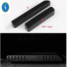 Yimaautotrims Auto Accessory Seat Under Air Condition AC Outlet Vent Cover Trim 2 Pcs For Toyota RAV4 Rav 4 2014 - 2018 Plastic for 2014 toyota corolla stainless steel window lift switch air condition ac vent reading light cover auto styling accessory