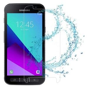 Image 4 - 9 H Gehärtetem Glas für Samsung Galaxy Xcover 4 G390F Screen Protector für Samsung Xcover 3 G388F Schutz Glas für X Abdeckung 3 4