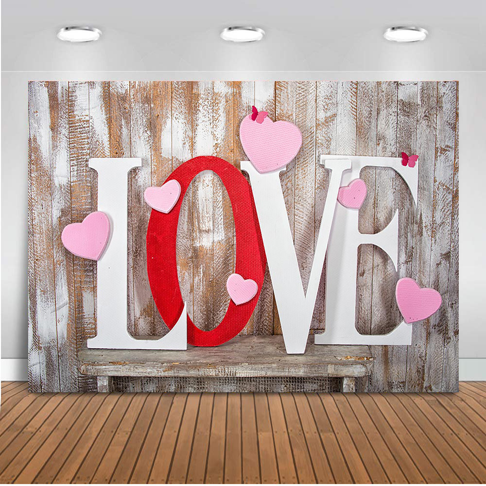 5x7ft Valentines Day Backdrop Vinyl White Candles Flowers on Fireplace Girlfriend Birthday Lovers Wedding Anniversary Background for Photography Photo Studio Props
