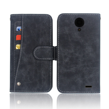 Hot! Overmax Vertis 5021 Aim Case High quality flip leather phone bag cover case with Front slide card slot image