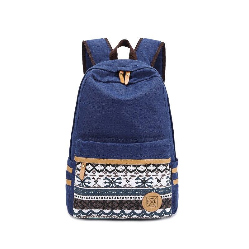 New 2017 High Canvas Fashion Green Backpacks Women Travel Bag Casual School Backpack For Teenage Girls Stylish Laptop Bag