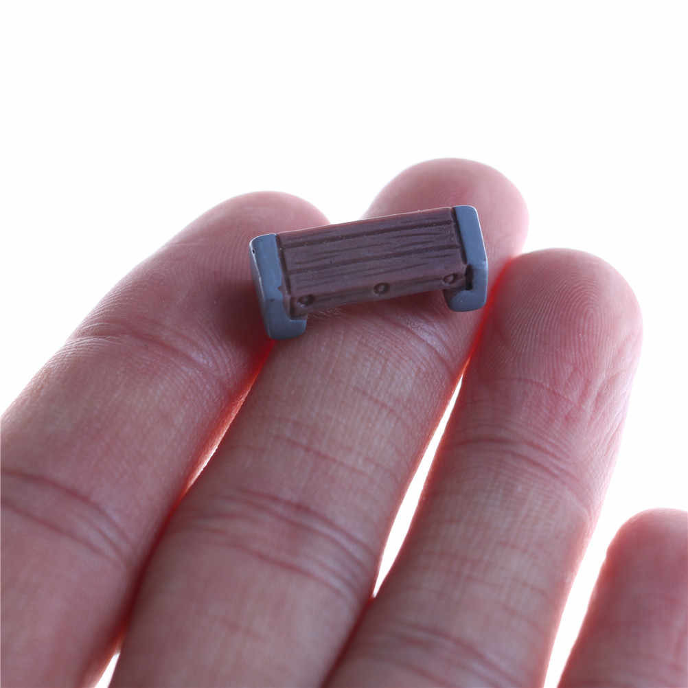 5 шт. DIY мини стул Фея Сад миниатюрные Декор кукольный домик микро пейзаж детская игрушка