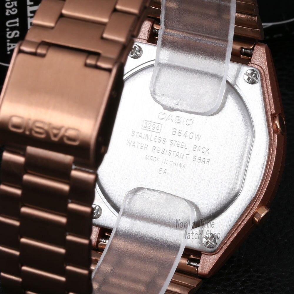 Image 3 - Casio watch Rose gold watch men set brand luxury LED digital Waterproof Quartz men watch Sport military Watch relogio masculino-in Quartz Watches from Watches