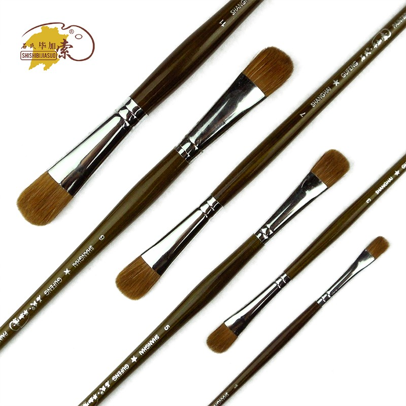 Trition 6pcs Waterbrush Drawing Brushes For Oil Painting Weasel Hair Watercolor Water Brush Pen High Quality Artist Paint Brush 2016 new 12pcs set flat tip painting brushes set artist nylon hair watercolor oil drawing pen 0 hot