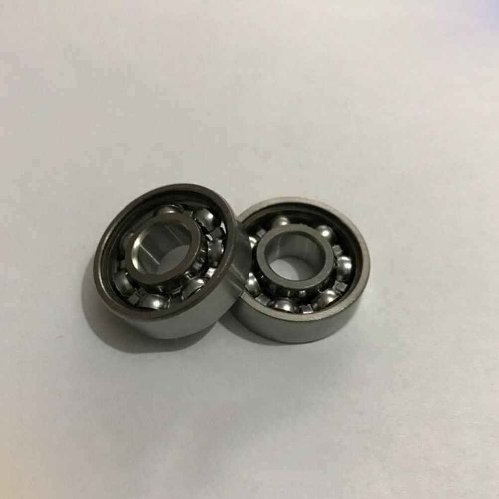 1 PC Carbon Steel Keramik Hand Spinner Mainan Mengurangi Stres Kecepatan Roda Bearing untuk Finger Spinner Skateboard Skate Roller