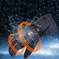 Impermeable Guantes Mantener Caliente Flexible Suave Guantes de Calefacción Eléctrica Recargable 7.4 V 5600 MAH de La Batería de Calor Inteligente Guantes Para El Invierno