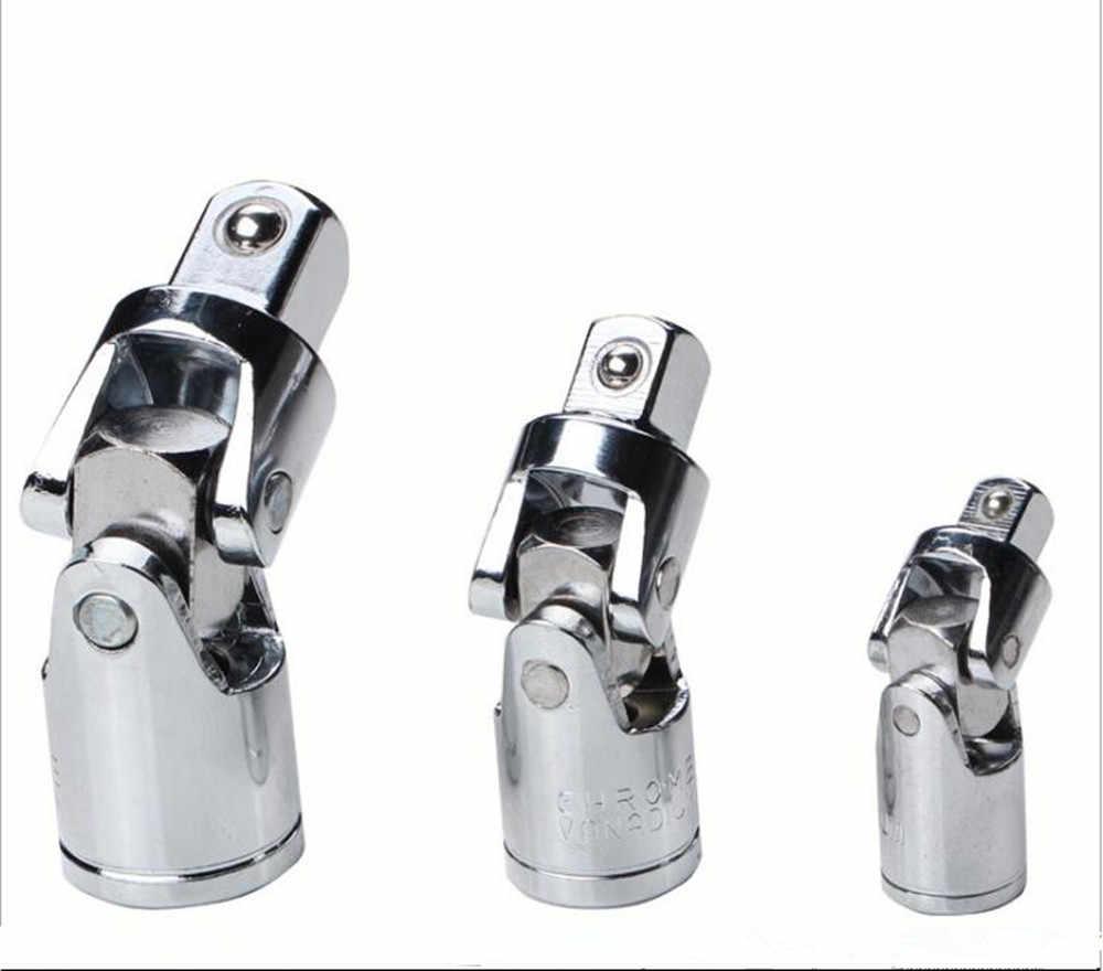 "3pcs 1/2"" 3/8"" 1/4 Inch Drive Universal Joint Air Impact Socket Set Adapter Tools"