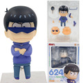 Osomatsu-san Figure Karamatsu Matsuno Orange Rouge 624 Nendoroid PVC Action Figures Collection Model Doll Toy Gifts