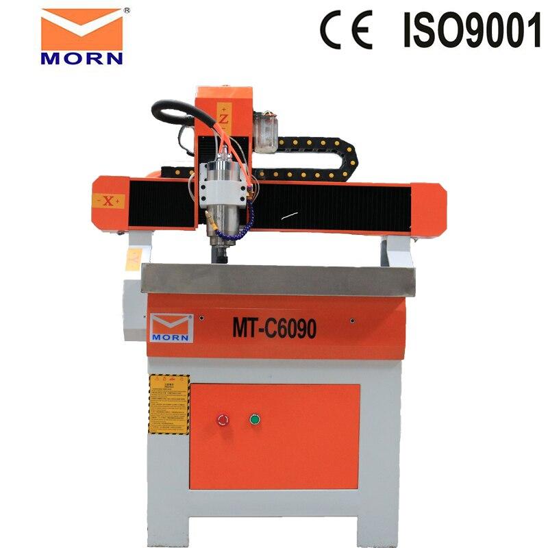 Meilleur 3D CNC graveur bois sculpture machine 4 axes CNC routeur 6090 avec 1.5KW VFD refroidi à l'eau broche pour métal pierre bois
