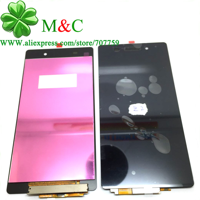 Z2 Original LCD Panel For Sony Xperia Z2 L50W D6502 D6503 D6543 LCD Display With Touch Screen Digitizer Panel  Assembly