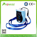 Promise New Design Light Blue Fingertip Pulse Oximeter Oximetro de dedo with Portable Case