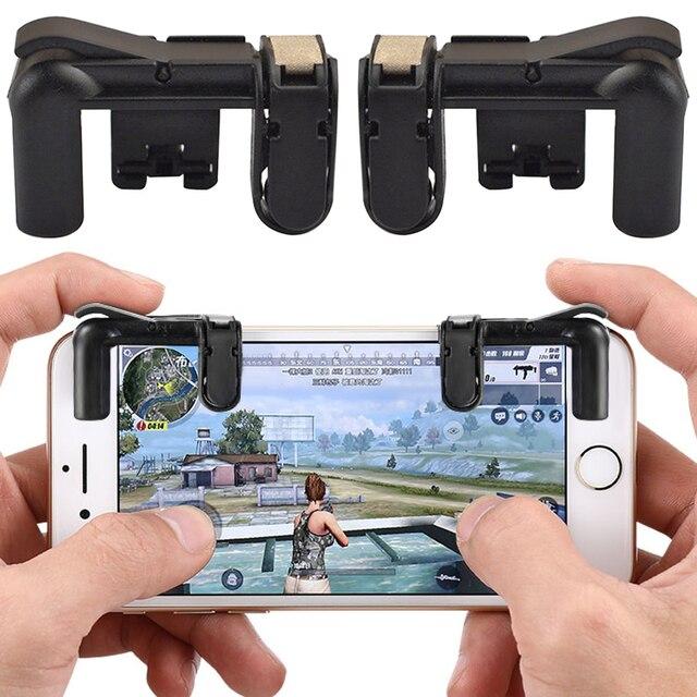 Fortnite Téléphone Gamepad Trigger Feu Bouton Objectif Clé Smart téléphone Mobile Jeux L1R1 Shooter Contrôleur PUBG V3.0 pour Iphone Xiaomi