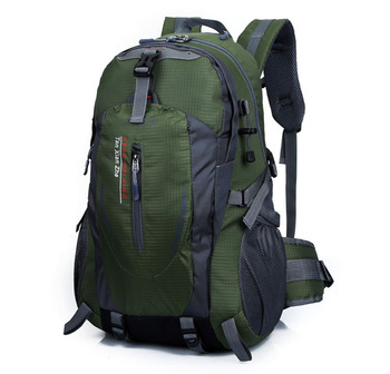 цена на 40L Rucksack Men Women Sport Bag Outdoor Hiking Backpack Mountaineering Travel Climbing Bag Camping Backpacks Waterproof Bags