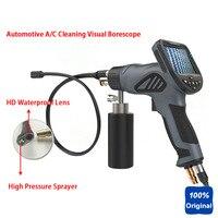 Кондиционер стиральная инспекции бороскоп новый водяной пистолет Aircon Cleaner Videoscope Автомобиль визуально спрей для очистки видео эндоскоп
