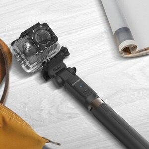 Image 5 - BlitzWolf bluetooth trépied tenu dans la main Selfie bâton extensible monopode pour Gopro 5 6 7 1/4 caméra de sport pour Huawei Smartphones