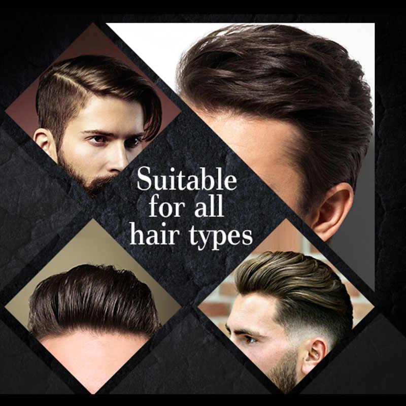 Укладка волос глиняный гель для отделки волос помада для волос для мужчин ежедневный сильный держать прически длительный с матовой отделкой формовочный крем