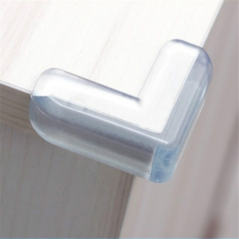 4pcs Baby Safety Silicone Corner Protector Kids Soft Clear Table Desk Edge Corner Guards Table Corner Guards Children Protection