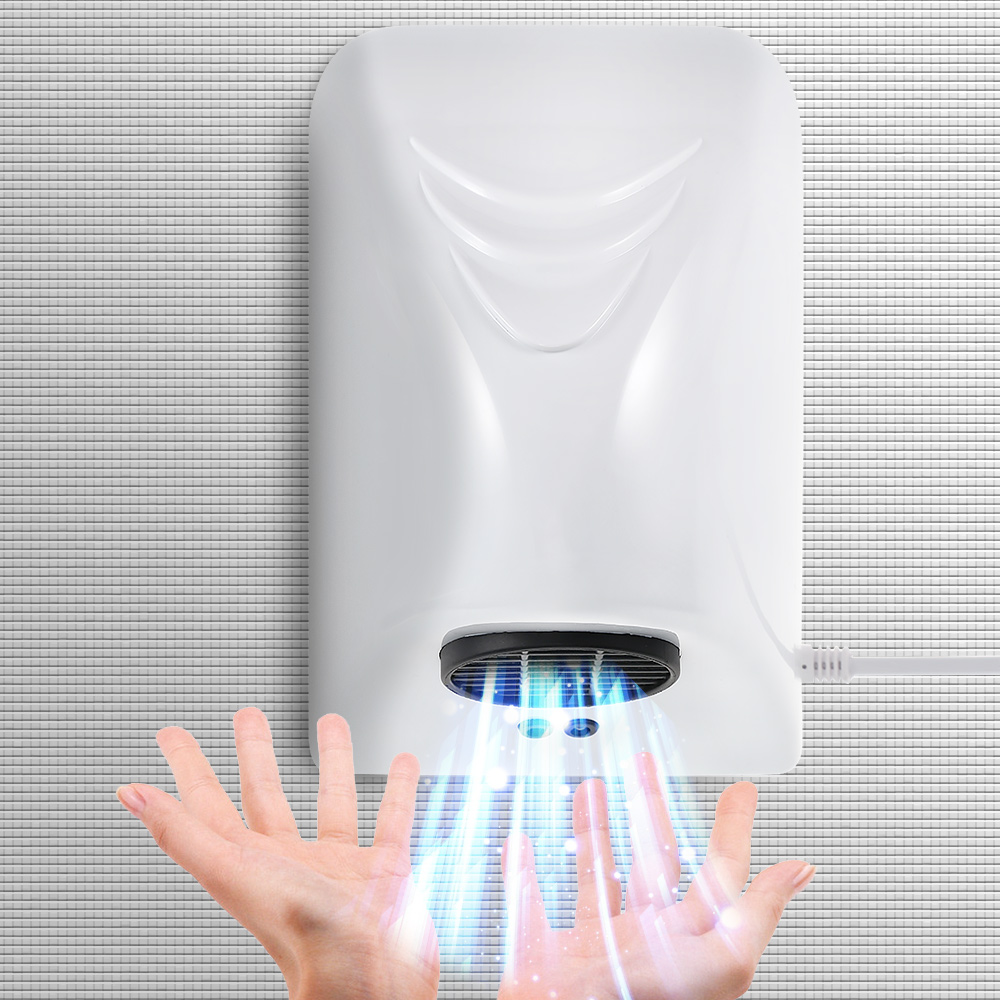 High Speed Hot Air Blower Electric Hand Dryer For Restroom Automatic Ultra Quiet