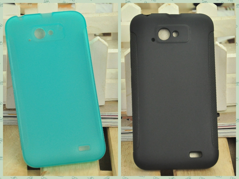 YSW Anti-Skid Soft TPU Pudding Cases For Qmobiles