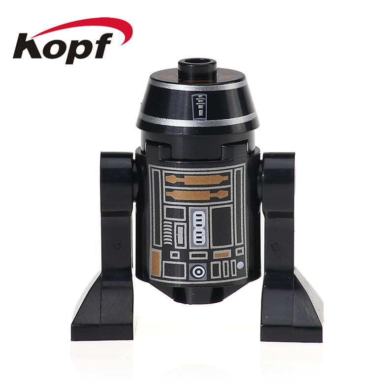 20Pcs Super Heroes RSJ2 Star Wars Smart Robot C110p SW424 Classic R2D2 BB8 Dolls Bricks Building Blocks Kids Gift Toys XH 527
