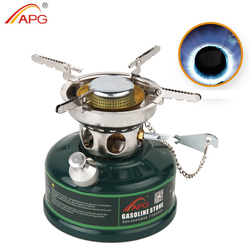 APG Camping Gasoline Stove No Noise Oil Stove Burners Outdoor Cookware Picnic Furnace fire maple outdoor gasoline stove burners portable oil