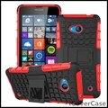 Heavy Duty Dual Rígido PC Capa de Silicone Híbrido Impacto Armadura Estande case para microsoft nokia lumia 640 casos coque para lumia 640
