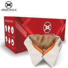 Angelruila U Форма электрические массажеры для тела обогреваемый 3D разминание Офис автомобили массажер для шеи Здравоохранение