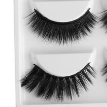 5 Pairs Multipack  3D Soft Mink Hair False Eyelashes  Wispy Fluffy Long Lashes Natural Eye Makeup Faux Eye Lashes
