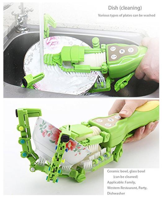 Cepillo de fregadero automático antibacteriano para lavavajillas.
