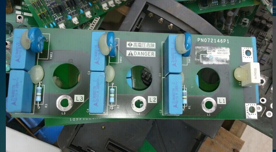 ATV61/71inverter 90/110KW surge absorption plate/filtering plate PN072146P1 rvar 5612 surge absorbing plate acs800 inverter 75 90 110kw 132kw rectifier board