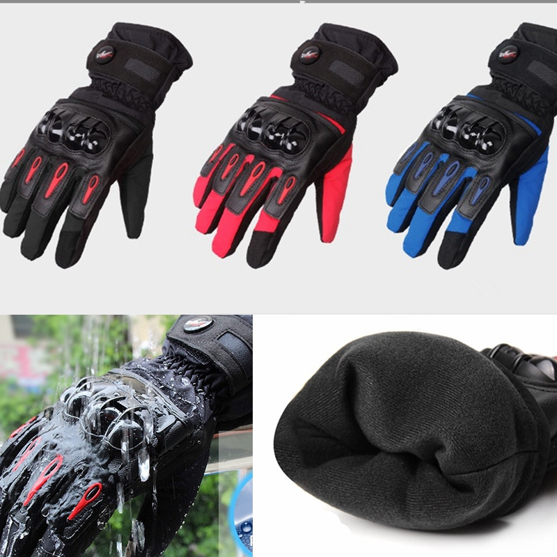 Upgraded Men's Full Finger Motorcycle Breathable Wearable Gloves Tech Touch Gloves Outdoor Sports Smart Gloves