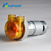 Kamoer 12/24V  peristaltic dosing pump with small flow ( 6.5~42.5ml/min , 12V/24V, 3rotors , 2000 hours )